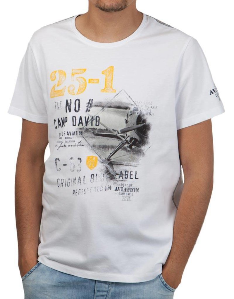 Camp David ® T-Shirt Blue 63