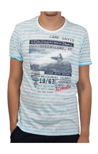 Camp David Camp David ® T-Shirt Queensland Stripe