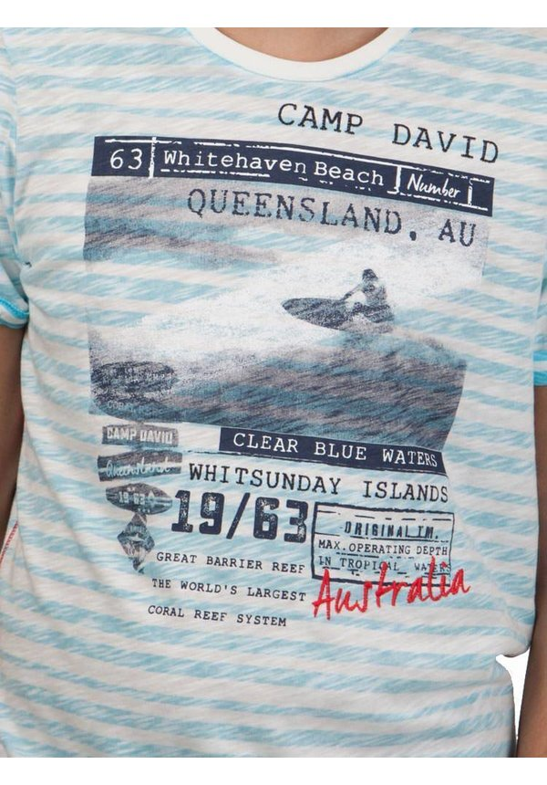 ® T-Shirt Queensland Stripe