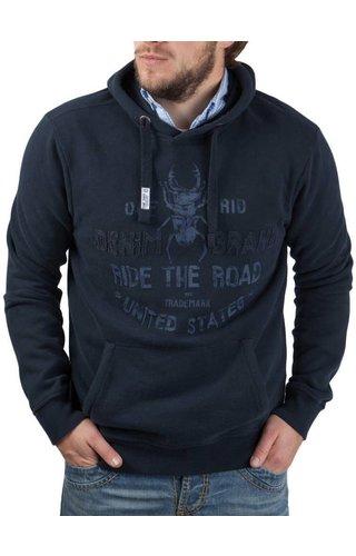 Camp David Camp David ® Hoodie Sweatshirt Denim Brand