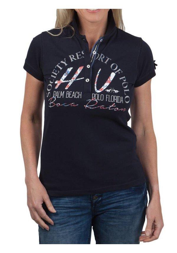 Women Poloshirt Palm Beach