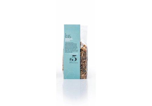 I Just Love Breakfast Klein zakje handgemaakte BIO granola  #5 Pecan-Almond (250g)