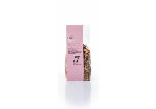 I Just Love Breakfast Klein zakje handgemaakte BIO granola  #7 Cashew-Banana (250g)
