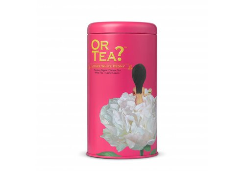Or Tea? Cylinderdoos met losse witte thee BIO (75g)