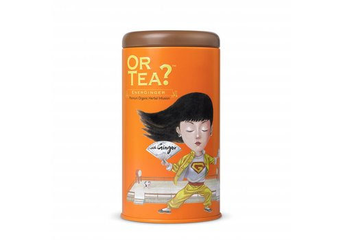 Or Tea? Cylinderdoos met losse gember infusie BIO (75g)