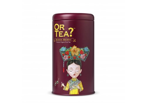 Or Tea? Cylinderdoos met losse bessen infusie BIO (75g)