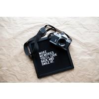 Letter board - 30 x 30 - All black