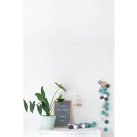 Letter board 30 x 45 Grey