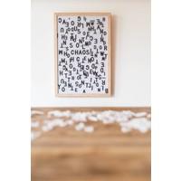 Letter board - 30 x 45 - White