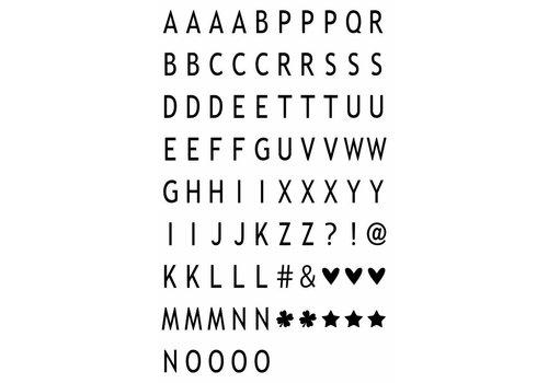 LEDR® LEDR® - 85 letters & symbols A6