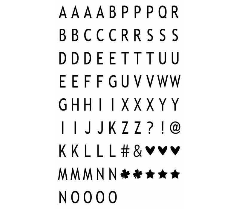 LEDR® - 85 letters & symbols  A6