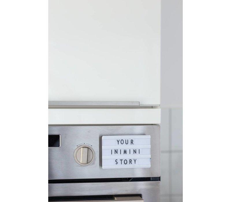 Lightbox A7 - Zwart - Inclusief magneet