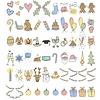 LEDR®   LEDR® - Holiday set - 60 hand made signs -  A6