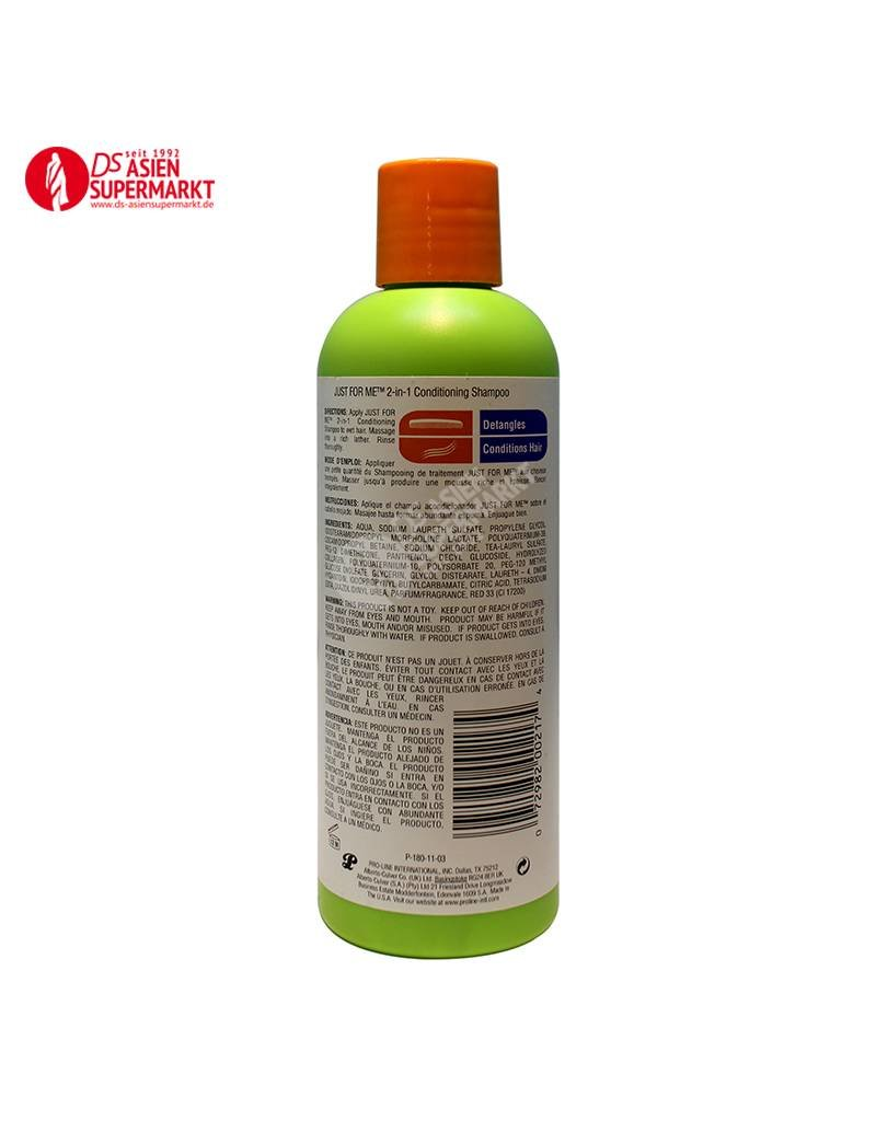 2 IN 1 CONDITIONING SHAMPOO 236ML JUST FOR ME