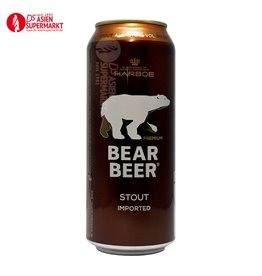 BEER STRONG STOUT 8% 500ML HARBOE