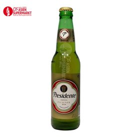 PRESIDENTE BEER 330ML (BIER DOM.REP)