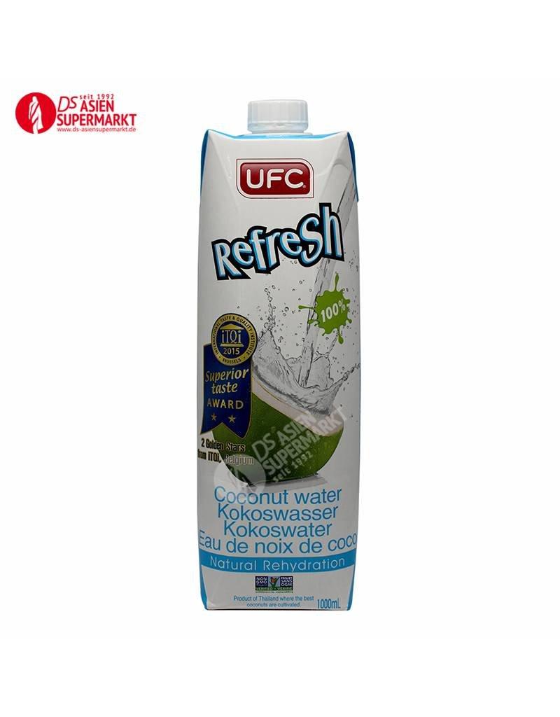 100% COCONUT WATER 1L (KOKOSWASSER) UFC