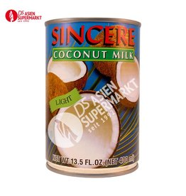 KOKOSMILCH LIGHT SINCERE 400ML