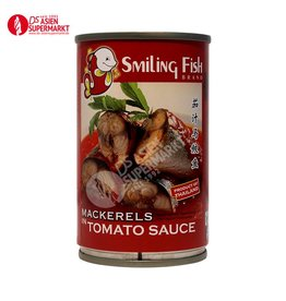 MACKERELS IN TOMATOSAUCE 155G SMILINGFISH