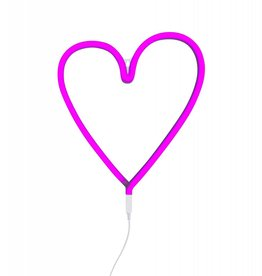 A Little Lovely Company A Little Lovely Company - Pink Heart Neon