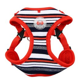 Puppia Puppia Oceane Harness Model C Red
