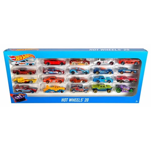Hot Wheels 20 Cars Gift Set