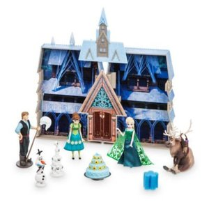Disney Frozen Water Color Changing Castle Playset