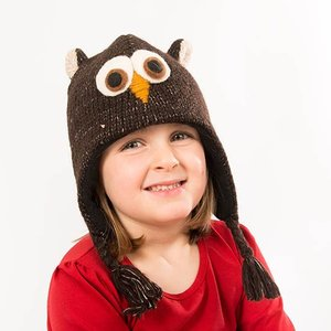 Knitwits Animal hat  OZZIE the owl
