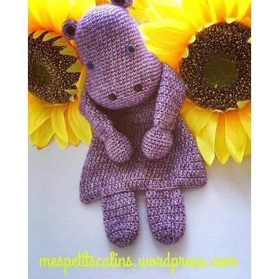 Mes petits Câlins Stuffed animal HIPPO