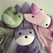 Mes petits Câlins Stuffed animal FROG