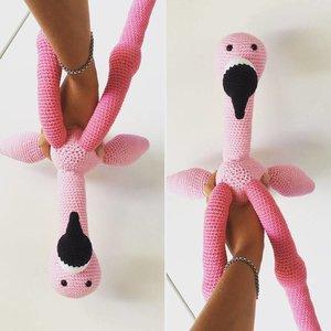 Mes petits Câlins Stuffed animal FLAMINGO