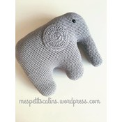 Mes petits Câlins Stuffed animal ELEPHANT