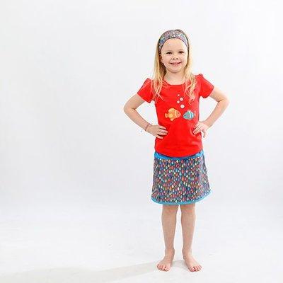 YEZ-Handmade A-line skirt SAM