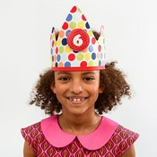 YEZ-Handmade  Birthday crown CYRILLE