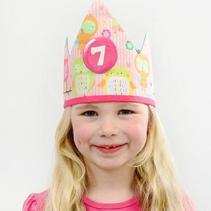 YEZ-Handmade Birthday crown DANY