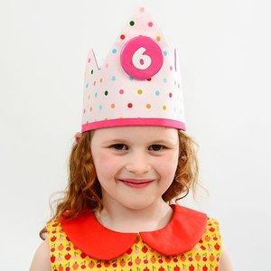 YEZ-Handmade Birthday crown DANE