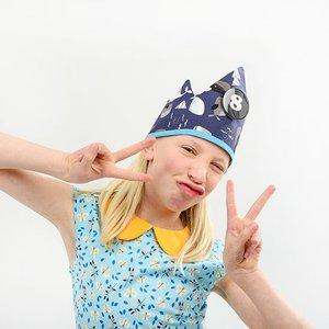 YEZ-Handmade Birthday crown BOBBIE
