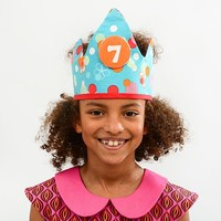 YEZ-Handmade Birthday crown  DYLAN