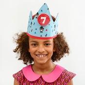 YEZ-Handmade  Birthday crown BEN