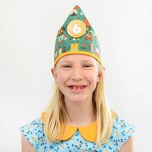 YEZ-Handmade Birthday crown  FINN