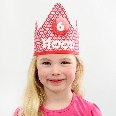 YEZ-Handmade  Birthday crown EVAN