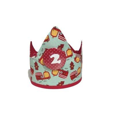 YEZ-Handmade  Birthday crown NOAH