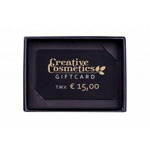 Creative Cosmetics Gift card €15