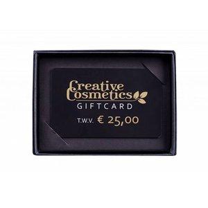 Creative Cosmetics Gift card €25