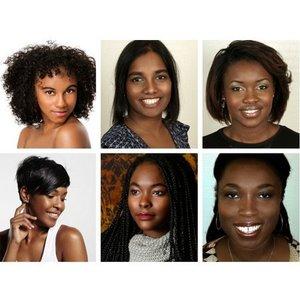 Creative Cosmetics Foundation testers for extra dark skin