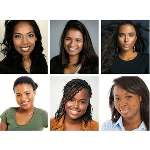 Creative Cosmetics Foundation testers for dark skin