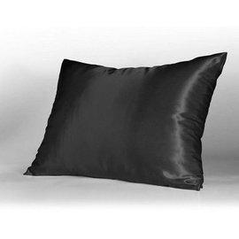 Satin Pillowcase Satijnen kussensloop / Zwart