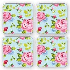 Cooksmart Vintage Floral Onderzetters (Per 4st.)