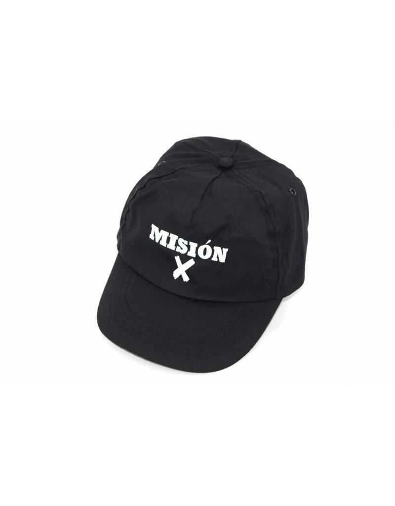 Misión X  Gorra negra con logotipo Misión X