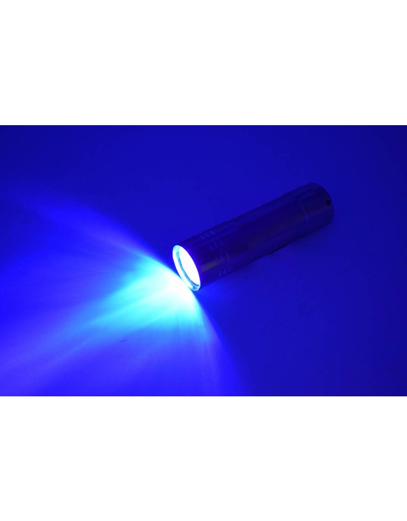 ClockDown linterna mini LED de luz negra